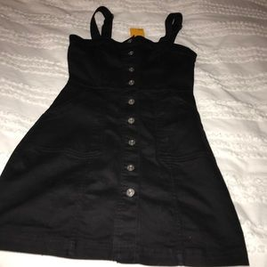 h&m overall dress new with tags  size xs